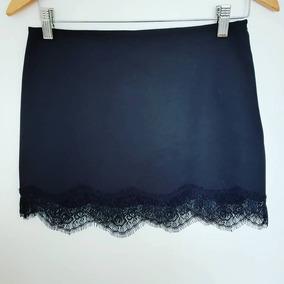 20db8bb04 Minifalda Nueva De Zara Con Encaje
