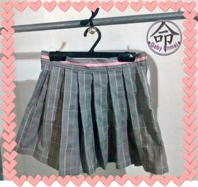 717648a9d Minifaldas Tableadas Sailor- Kpop- Cuadrille