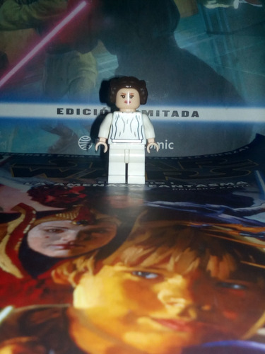 minifigura lego star wars princesa leía joven