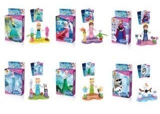 minifiguras c/lego frozen juguetes sorpresas piñatas und ajd