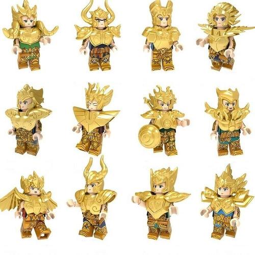 minifiguras saint seiya caballeros del zodiaco dorados
