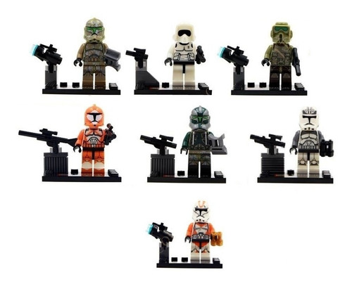 minifiguras tipo lego star wars