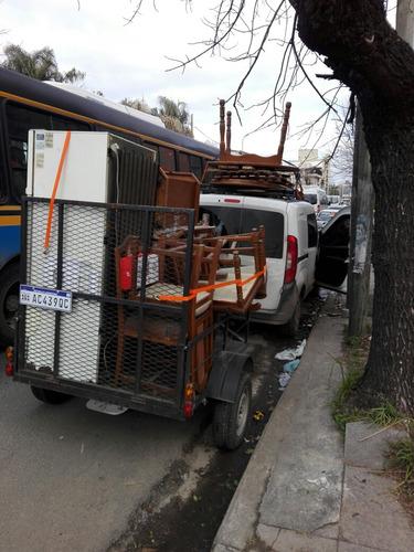 miniflete economico + trailer 1.60 x 1.20.