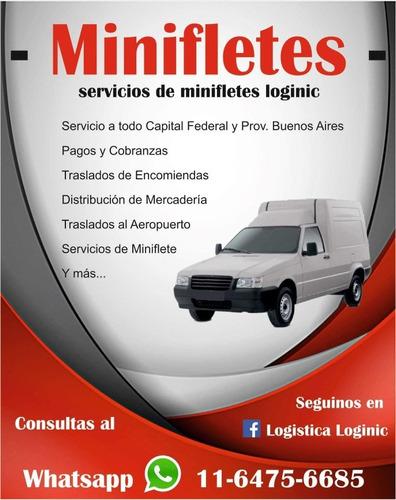 minifletes y servicios de logistica