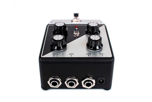 minifooger mf flange de moog - pedal efecto análogo estéreo