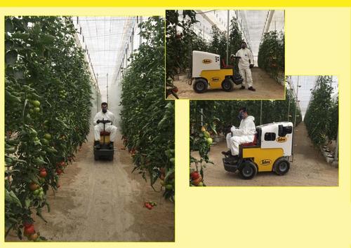 minifumigador para tomate y pepino, equipo invernadero idm