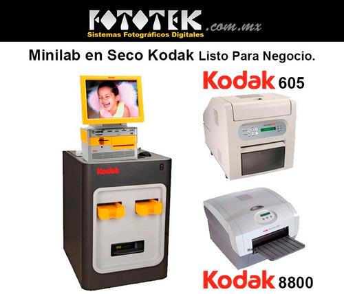 minilab en seco kodak listo para negocio