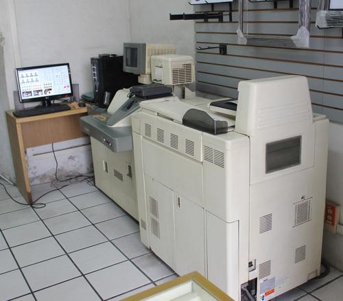 minilab noritsu qss 2611 con mascarilla digital ipc