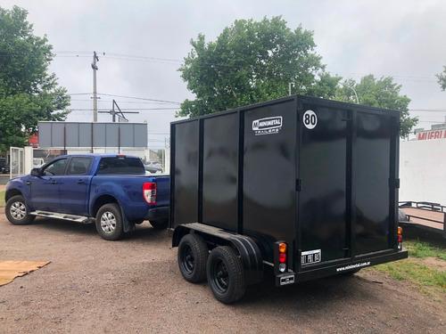 minimetal fabrica trailer cerrado multicargas