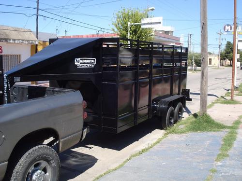 minimetal fabrica trailer  cigüeña para animales lcm