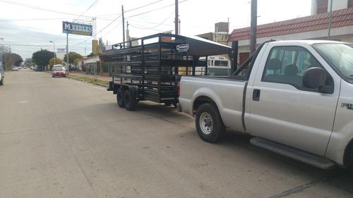 minimetal fabrica trailer cuello cigüeña para animales