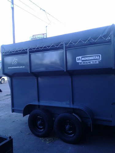 minimetal fabrica trailer para 6 equinos