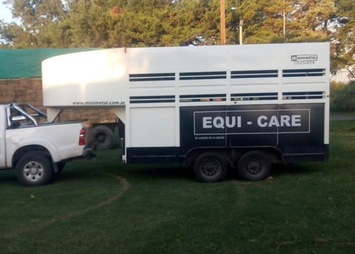 minimetal fabrica trailer para 6 equinos cigüeña lcm