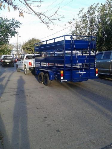 minimetal fabrica trailer para animales