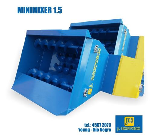 minimixer mezclador distribuidor ración hidr. j. hartwich