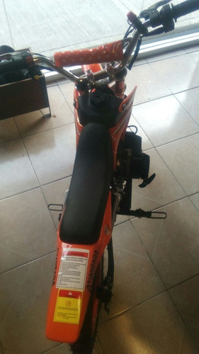 minimoto 50cc 2t de gasolina con marcha, azul, rojo, negro