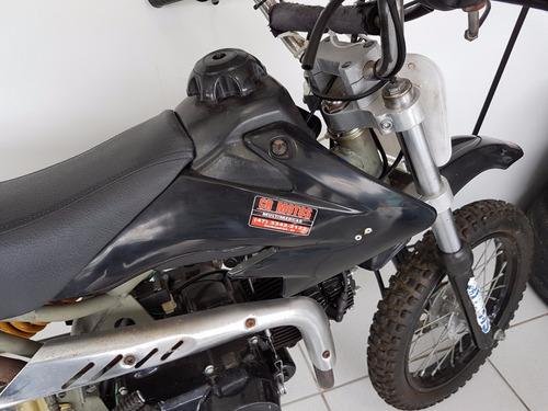 minimoto cross 125 4 tempos partida eletrica 12x 290 cartão