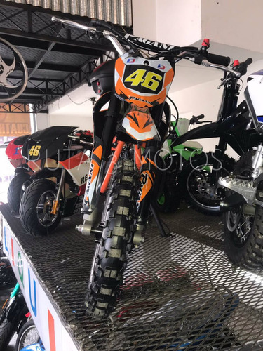 minimoto cross 50 2 tiempos 0km ruta 3 motos