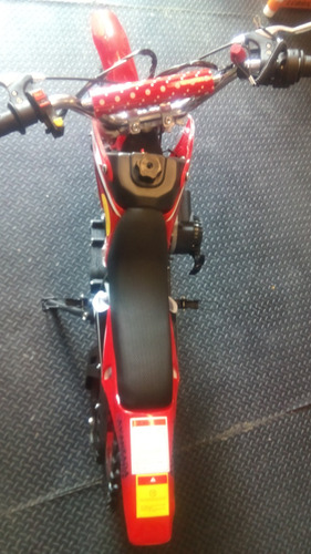 minimoto cross infantil 50cc de 2tiempos, arranque electrico