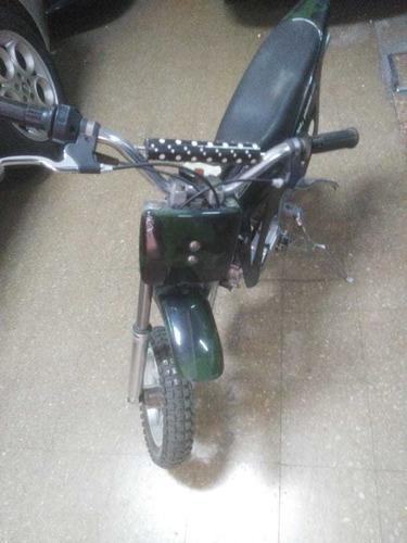 minimoto cross llantas aleacion cubiertas esp. 50cil nueva