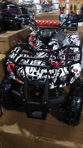minimoto cuatrimoto  50cc con arranque electrico y manual