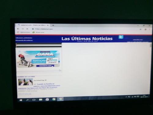 mininetbook con pantalla 21.5 lg. envío gratis.