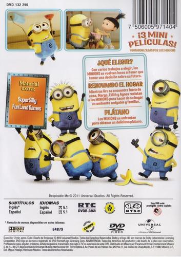 minion madness la locura de los minions pelicula dvd