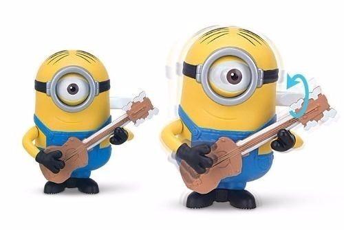 minion stuart interactivo guitarra original 20 cm original