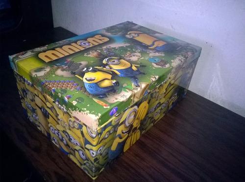 minions caja de madera