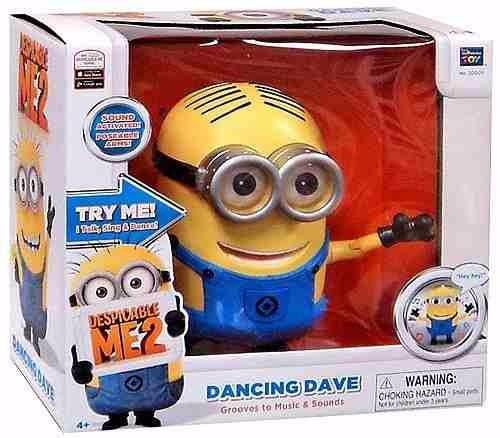 minions dave bailador interactivo - mi villano favorito 2
