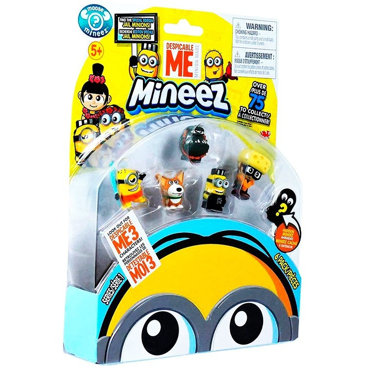 Minions Muñecos X 6 Mi Villano Favorito 3 Minnez Lelab - $ 461,00 en ...