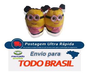 23104f0354ed0b Pantufa Dos Minions Adulta Pantufas - Pantufas com o Melhores Preços ...