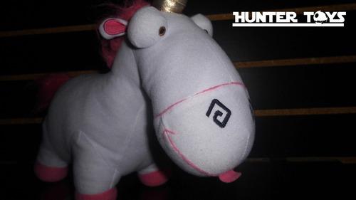 minions, unicornio fluffy, peluche, mi villano,tel.35846340