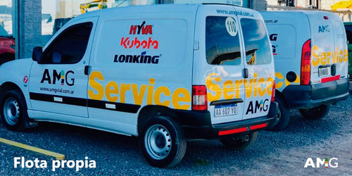 minipala cargadora lonking cdm307 kubota usado 2017 350hs !!