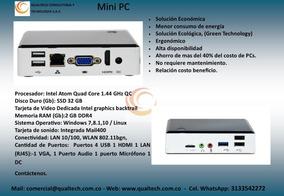 Minipc Intel Atom Z8350 2 Gb Ram Ssd 32 Gbs Windows, Linux