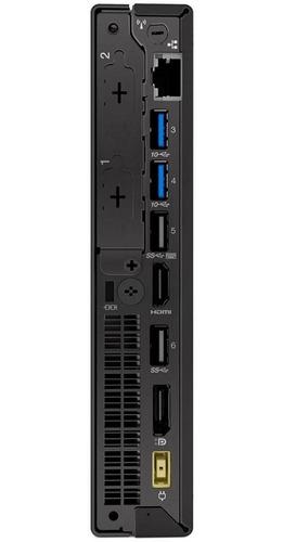 minipc lenovo i3 8100t 8gb ram 1tb hd com monitor