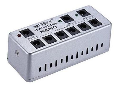 minipedal power supply mosky nano fonte alimentação 8 saídas