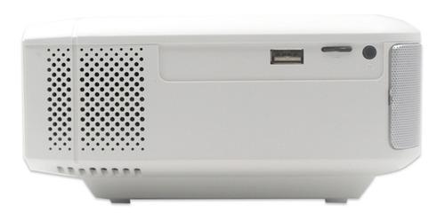 miniproyector led portatil función espejo compatible con android y iphone wifi hd 2000 lumen maletin incluido
