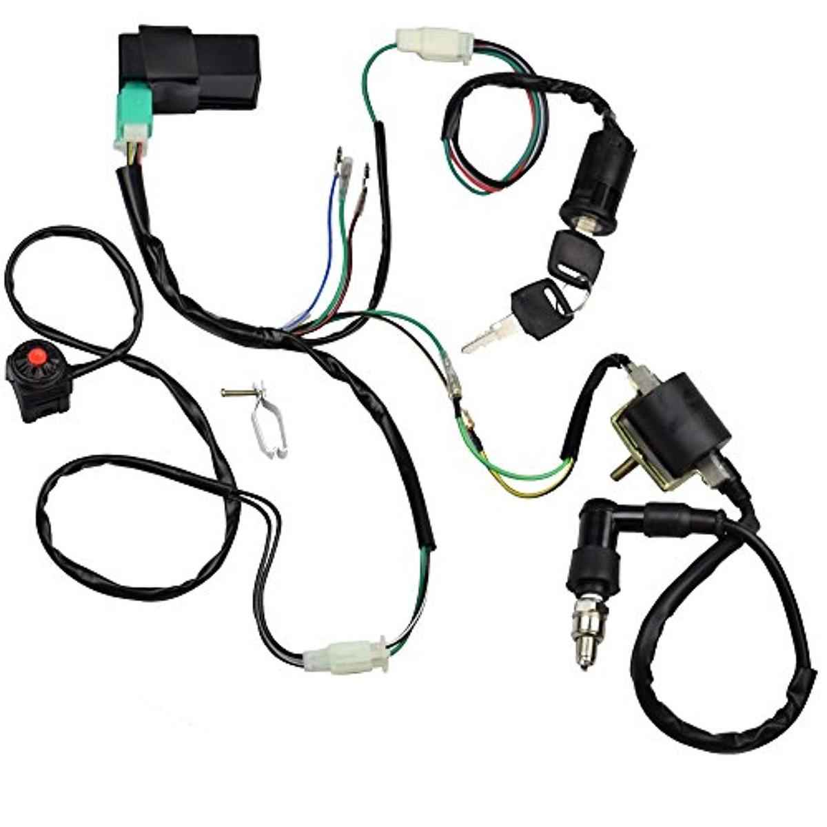 Minireen Wire Harness Wiring Loom Cdi Ignition on cable loom, crazy loom, wood loom, carpet loom,