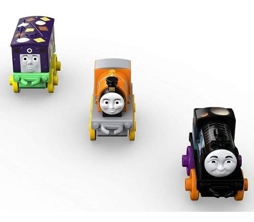 minis 2 pack de 3 trenes de juguete thomas y sus amigos aaa