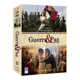 Miniserie Guerra & Paz - Box Com 4 Dvds (original)