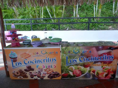 minispa & cocineritos. minichefs
