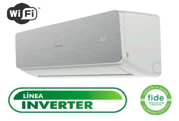 Minisplit Inverter Aux 12000 Btu Wifi Mod Asw 12a21nv Ss S