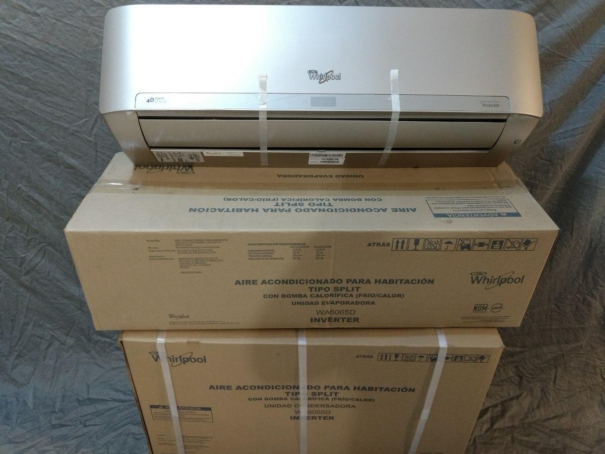 Minisplit Inverter Whirlpool Wa6065d Frio Calor 1 Ton