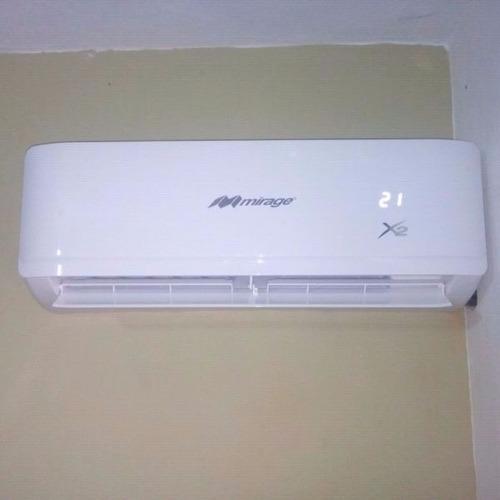 minisplit mirage x2 1 tonelada 220v frio y calor envíogratis