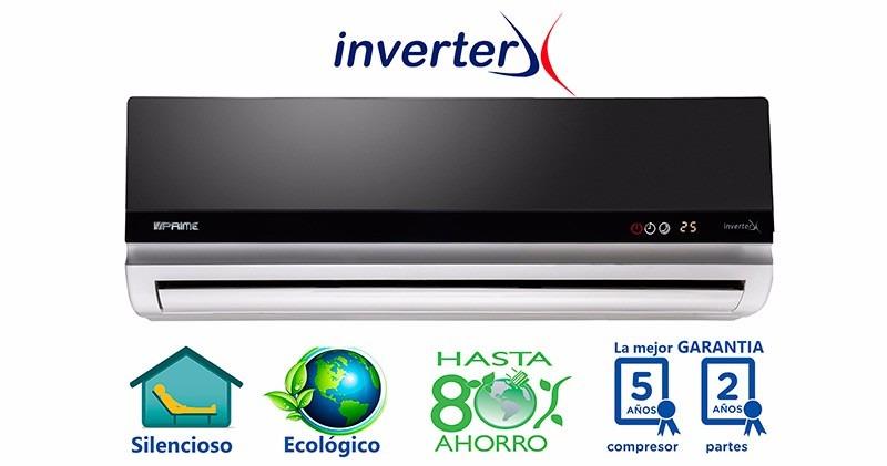 Minisplit Prime Inverter 1 Ton Frio Y Calor Cte 110
