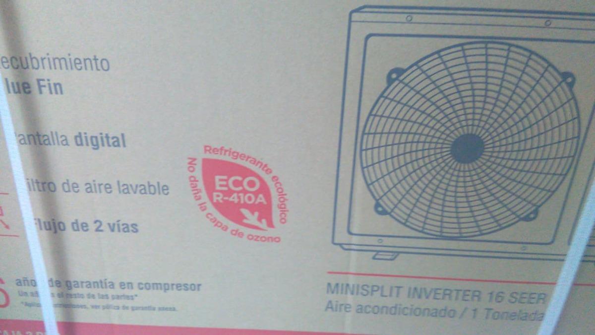 Minisplit Rheem Inverter 1 Tonelada 220 V Clima 7 590