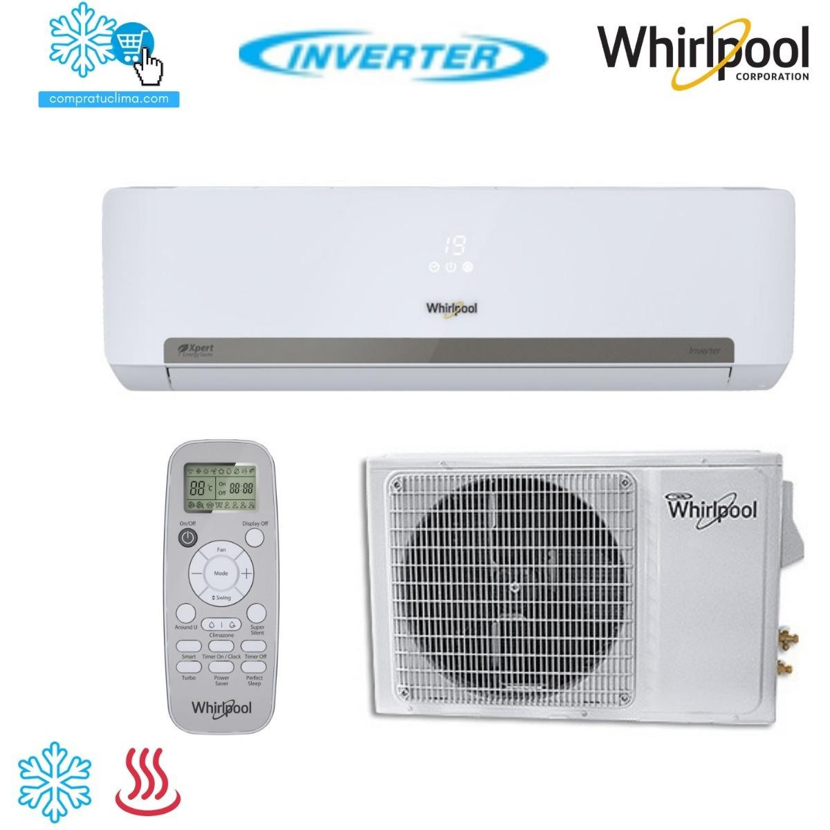 Minisplit Whirlpool Inverter 1 Ton Fr 237 O Calor 220v