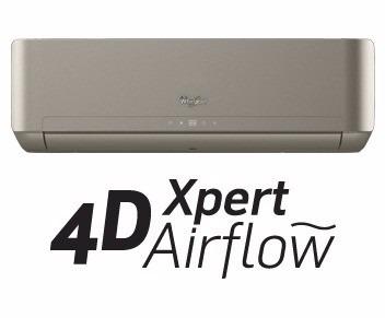 Minisplit Whirlpool Inverter 2 Ton Frio Y Calor Silver