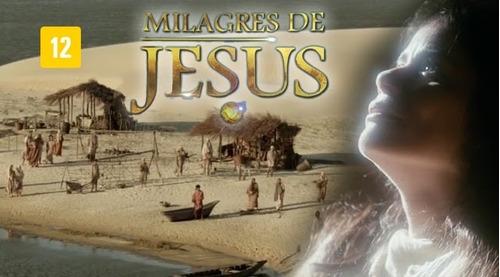 minissérie milagres de jesus 1ª temp completa frete grátis